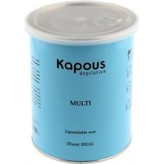 Жирорастворимый воск для спортсменов и мужчин, для жестких волос в банках 800 мл SILVER Kapous