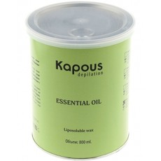 Жирорастворимый воск для для коротких волос в банках 800 мл Kapous