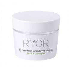 Питательный крем с миндальным маслом для сухой и чувствительной кожи Ryor
