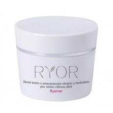 Дневной крем с амарантовым маслом и протеинами шелка для очень чувствительной кожи Ryor