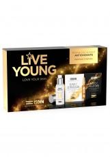 Набор ISDIN Live Young (Флюид для лица Foto Ultra ISDIN Age Repair SPF 50, 50 мл + н-р Сыв.дневн. FLAVO-C ULTRAGLICAN,10х2 мл + Сыв.ночн. FLAVO-C MELATONIN,10х2 мл)
