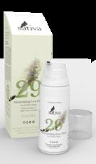Крем-флюид для лица увлажняющий №29 для всех типов кожи «SATIVA»