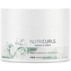 Маска питательная для вьющихся и кудрявых волос Wella NUTRICURLS
