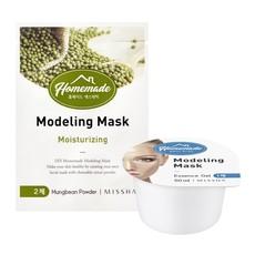 Альгинатная маска для лица MISSHA Homemade Modeling Mask (Mung Bean)