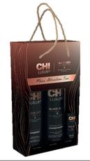 Набор для волос на основе масла черного тмина CHI Luxury Mane Attraction Trio