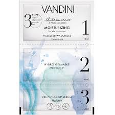 Маска для лица 3-х шаговая Увлажнение MOISTURIZING 3-Step Mask Aldo Vandini