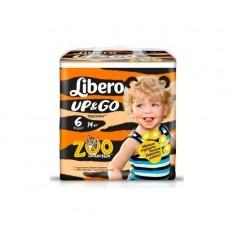 Детские подгузники-трусики Libero Up&Go 6 XL 13-20 кг