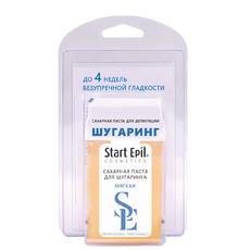 """Набор для шугаринга (сахарная паста в картридже """"Мягкая"""", 100 г + бумажные полоски для депиляции) Start Epil"""