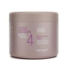 Маска для волос увлажняющая «LISSE DESIGN Keratin Therapy» Alfaparf