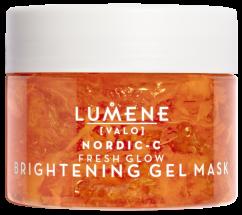 Придающая сияние маска для лица с натуральными AHA-кислотами LUMENE NORDIC-C [VALO] FRESH GLOW BRIGHTENING GEL MASK 150ml Lumene