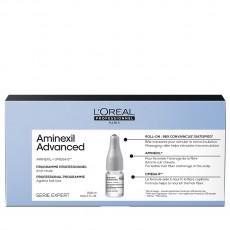 Ампулы против выпадения волос Serie Expert Aminexil Advanced L`Oreal Professionnel