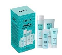 Набор увлажняющий комплекс для волос с маслом миндаля и экстрактом риса Kaaral