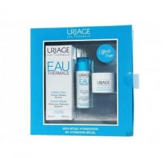 Набор COFFRET Eau Thermale (Увлажняющий крем 40 мл + Сыворотка 10 мл + Ночная маска 15 мл) Uriage