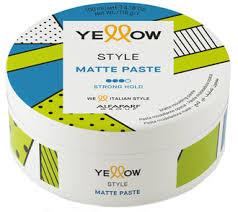 Паста матовая сильной фиксации Yellow Style