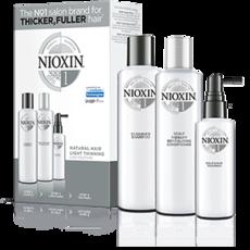 Cистема по уходу для натуральных волос с тенденцией к истончению System 1 Nioxin