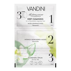 Маска для лица 3-х шаговая Глубокая очистка DEEP CLEANSING 3-Step Mask Aldo Vandini