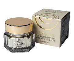 Крем для кожи вокруг глаз с коллоидным золотом и слизью улитки, серия «Золотая улитка» Adelline 24K Gold Snail Eye Cream