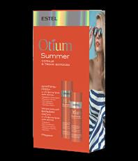 Набор Шампунь-fresh c UV-фильтром для волос + Шампунь-fresh c UV-фильтром для волос Otium Summer Estel