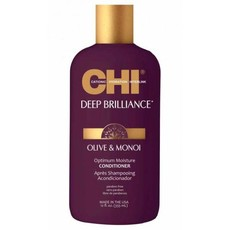 Кондиционер для поврежденных волос CHI Deep Brilliance Olive & Monoi Optimum Moisture Conditioner