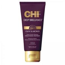 Маска для поврежденных волос CHI Deep Brilliance Olive & Monoi Deep Protein Masque
