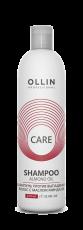 Шампунь против выпадения волос с маслом миндаля Ollin CARE