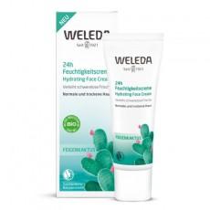 Увлажняющий крем для лица 24 часа с опунцией 30мл WELEDA