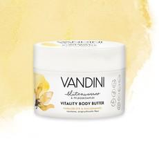 Масло для тела Цветок Ванили & Масло Макадамии VANDINI VITALITY Body Butter Vanilla Blossom & Macadamia Oil Aldo Vandini
