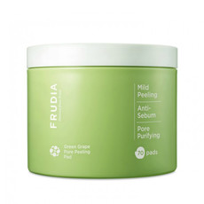 Пилинг-диски для лица с зеленым виноградом Green Grape Pore Clear Peeling Pad FRUDIA