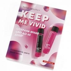 Набор для сохранения цвета Keep Me Vivid (Шампунь, 300 мл + Кондиционер, 300 мл) Matrix
