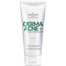 Стягивающая маска для лица DERMAACNE +  Farmona Professional