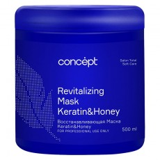 Восстанавливающая маска Ke ratin&HoneyConcept Salon Total Soft Care