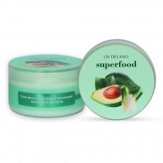 Крем-флюид для тела увлажняющий АВОКАДО И ФЕНХЕЛЬ, 240г Superfood Liv Delano