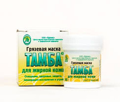 Маска грязевая для жирной кожи Тамба