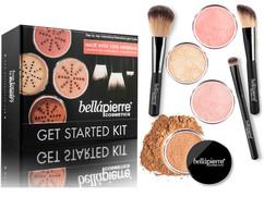 Большой набор для макияжа Get Started Kit BELLAPIERRE