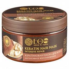 Кератиновая Маска для волос Интенсивное восстановление Бразильский купуасу ECOLAB