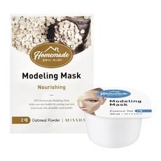 Альгинатная маска для лица MISSHA Homemade Modeling Mask (Oatmeal)