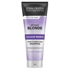 Шампунь для восстановления и поддержания оттенка осветленных волос Sheer Blonde СOLOUR RENEW JOHN FRIEDA