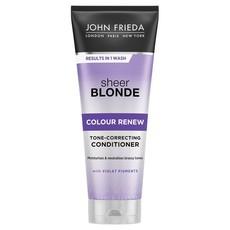 Кондиционер для восстановления и поддержания оттенка осветленных волос Sheer Blonde СOLOUR RENEW JOHN FRIEDA