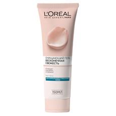 Гель для умывания БЕСКОНЕЧНАЯ СВЕЖЕСТЬ очищающий для нормальной и смешанной кожи L'Oreal Dermo Expertise