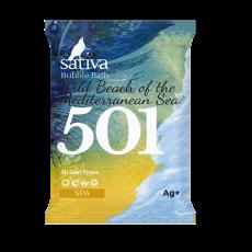Пена для ванны ДИКИЙ ПЛЯЖ СРЕДИЗЕМНОГО МОРЯ №501 Sativa (3шт)