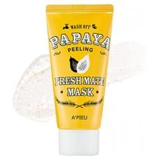 Маска-пилинг для лица A'PIEU Fresh Mate Papaya Mask (Peeling)