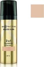 Тональная основа с защитной сывороткой Ageless Elixir 2 in 1 Foundation+Serum  SPF 15 Max Factor
