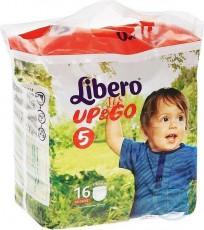 Детские подгузники-трусики Libero Up&Go 5 Maxi plus 10-14 кг