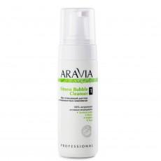 Мусс очищающий для тела с антицеллюлитным комплексом Fitness Bubble Cleanser, 160мл ARAVIA Organic