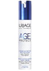 Крем-детокс для лица AGE PROTECT CREME NUIT DETOX MULTI-ACTIONS многофункциональный ночной Uriage