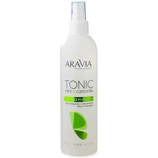 Тоник для очищения и увлажнения кожи с мятой и ромашкой ARAVIA Professional