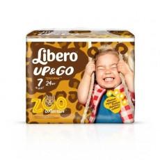 Детские подгузники-трусики Libero Up&Go 7 XL plus 16-26 кг