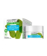 Крем для лица матирующий увлажняющий DERMOLAB NATURE SENSE MATTIFYING HYDRATING CREAM combination to oily skin, 50 мл Deborah Milano Nature Sense