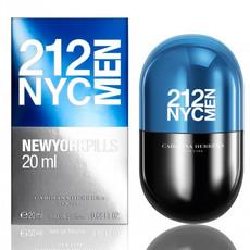 Туалетная вода CAROLINA HERRERA 212 MEN NYC NEWYORKPILLS, 20 мл