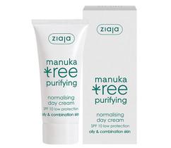 """Дневной крем для лица нормализующий для жирной и комбинированной кожи """"Дерево мануки"""" Manuka Tree Ziaja"""